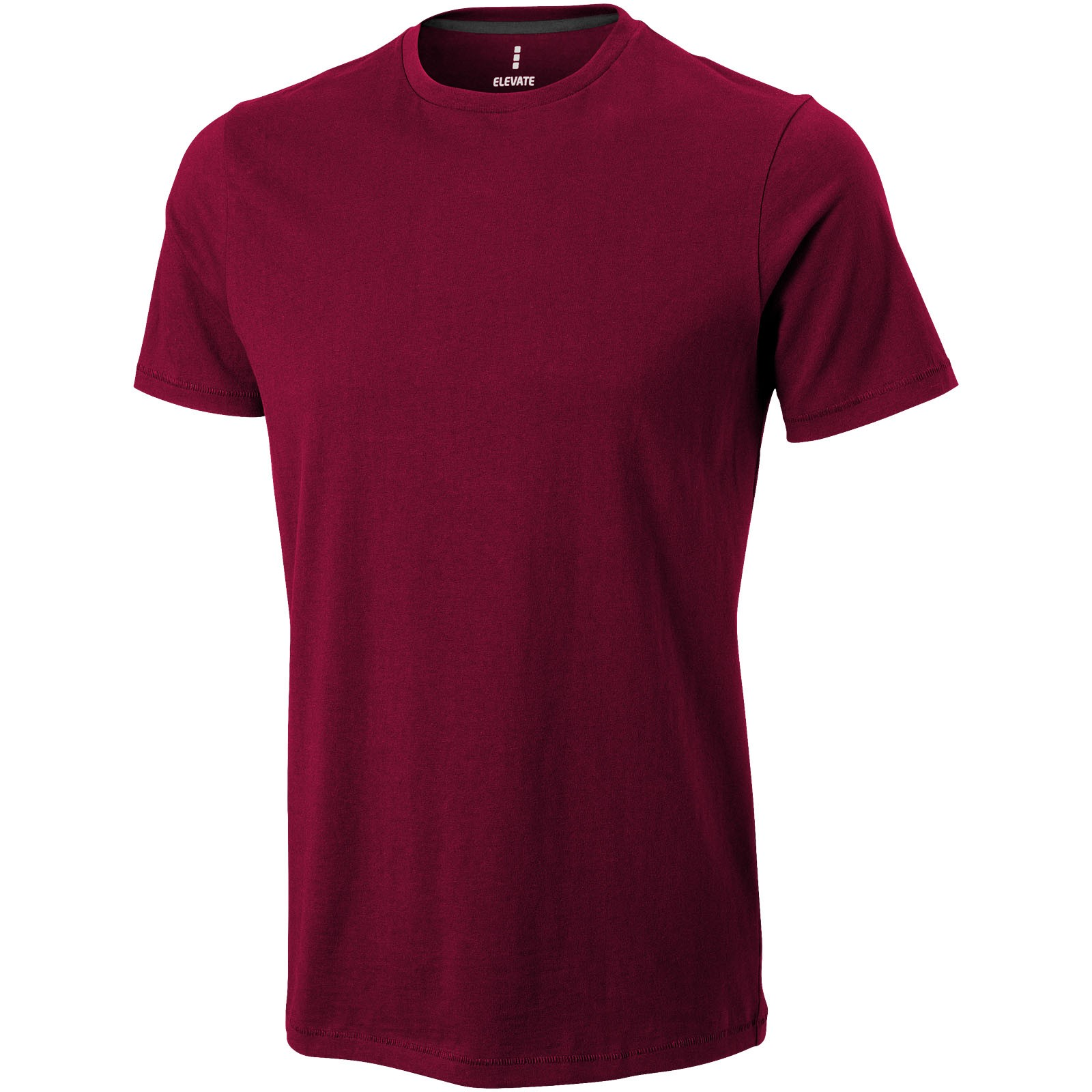 Nanaimo short sleeve men's t-shirt - Burgundy / XS