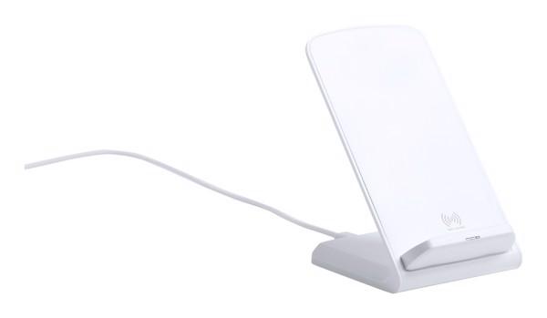 Stojánek Na Mobil S Bezdrátovou Nabíječkou Tarmix - Bílá