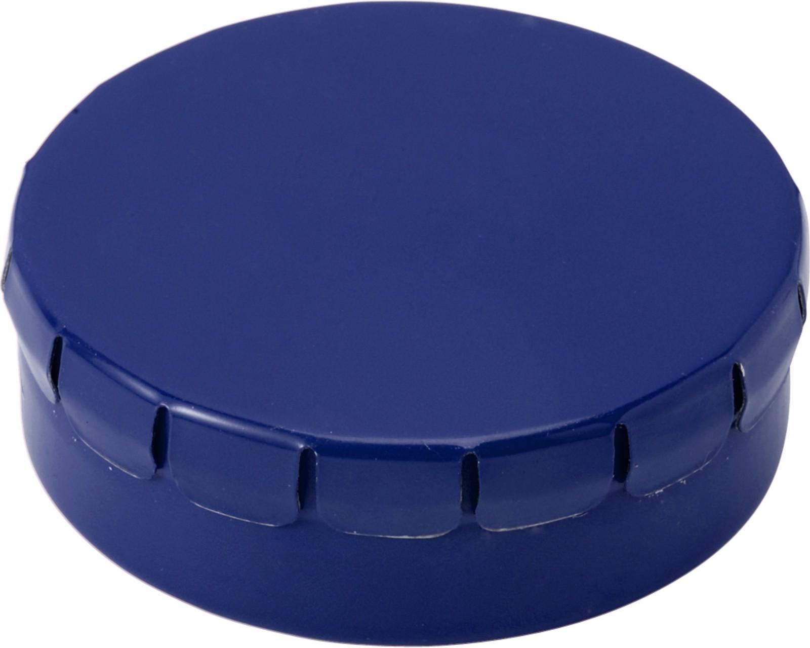 Tin with mints - Cobalt Blue