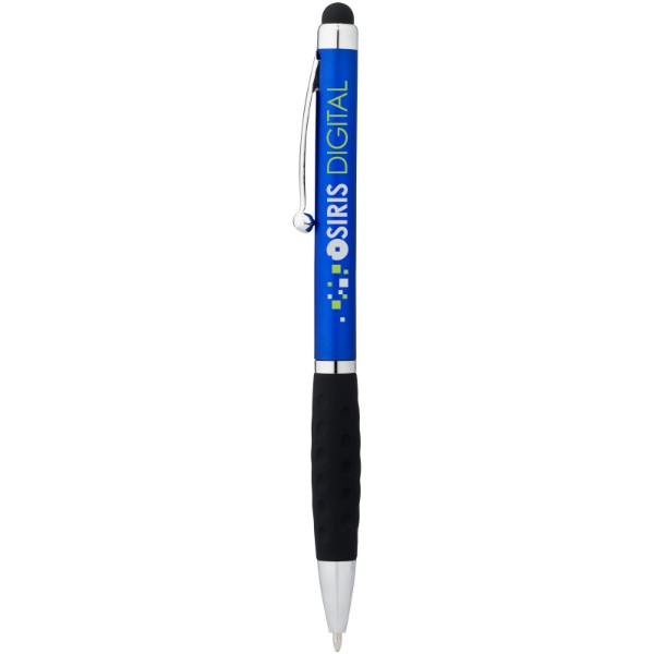 Kuličkové pero a stylus Ziggy - Modrá / Černá