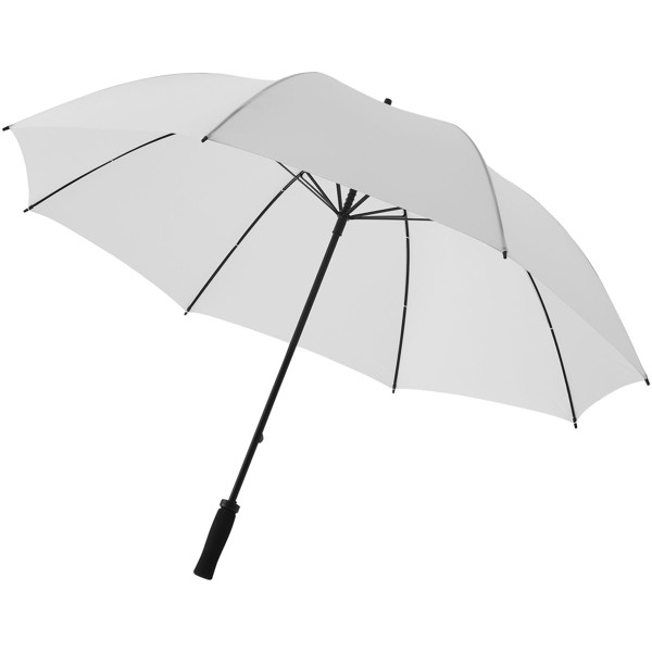 "Yfke 30"" golf umbrella with EVA handle - White"