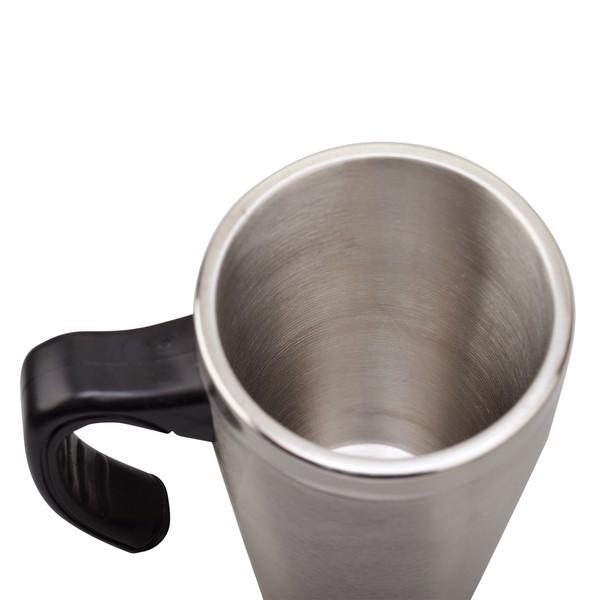 Kubek izotermiczny Vancouver 380 ml - Srebrny