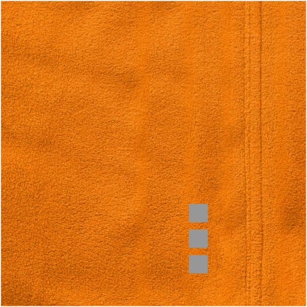 Brossard micro fleece full zip ladies jacket - Orange / M