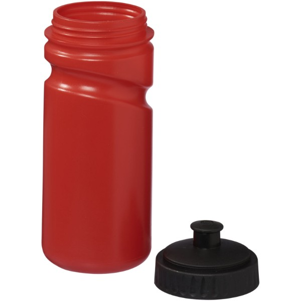 Sportovní láhev Easy Squeezy - barevná - Červená s efektem námrazy / Černá