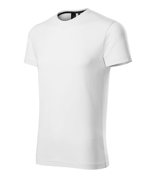 Tričko pánské Malfinipremium Exclusive - Bílá / XL