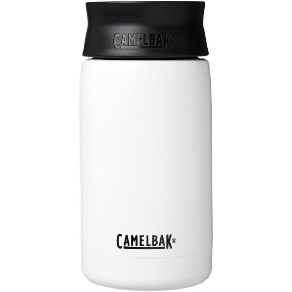 Hot Cap 350 ml copper vacuum insulated tumbler - White