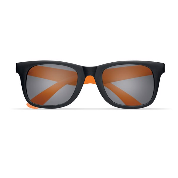 2 tone sunglasses Australia - Orange