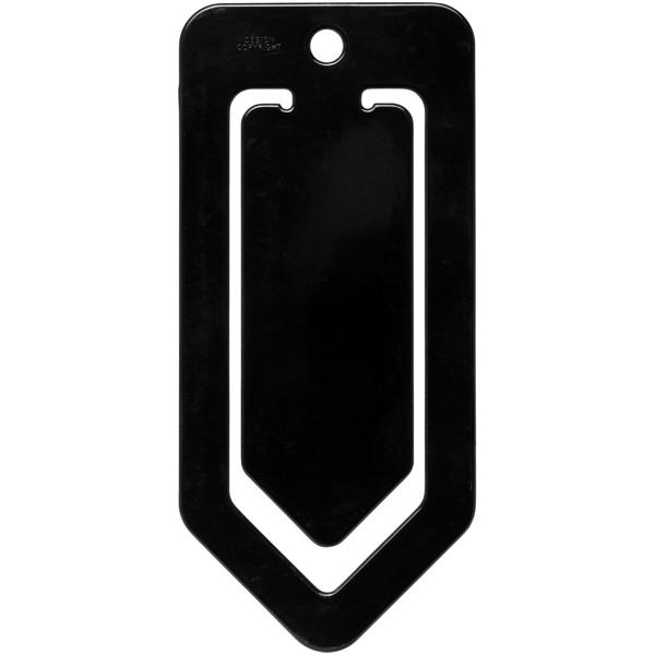 Duko large plastic paper clip - Solid black