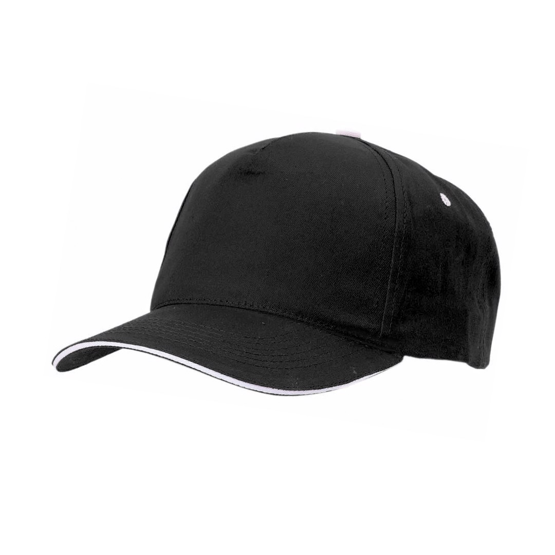 Cap Five - Black