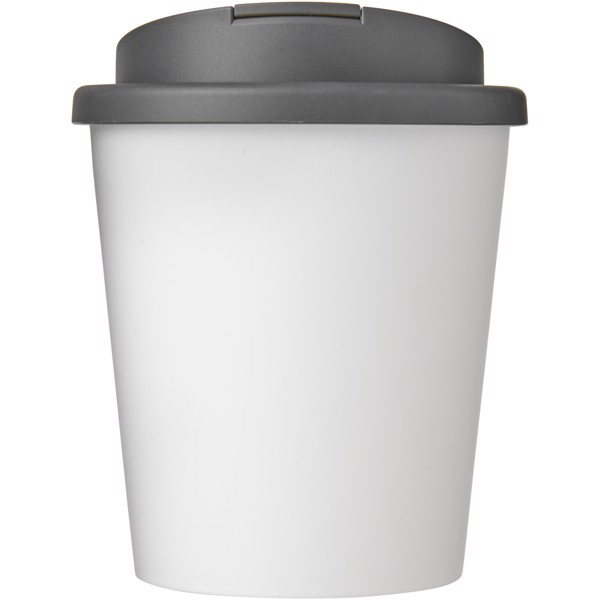 Americano Espresso® 250 ml tumbler with spill-proof lid - White / Grey