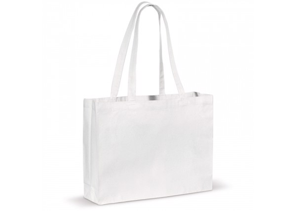 Shopping bag OEKO-TEX® 270g/m² - White