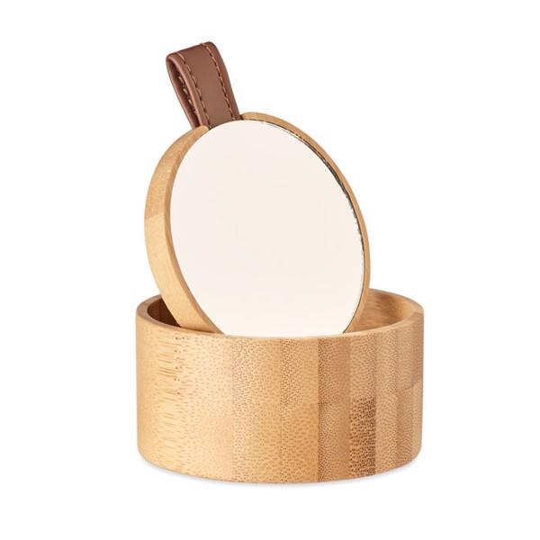 Joyero espejo bambú Treasure