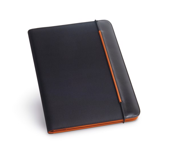 FITZGERALD. A4 folder - Orange