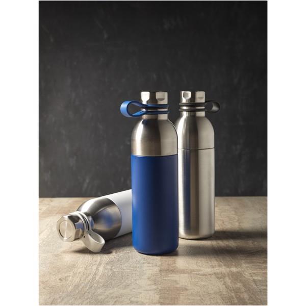 Měděná sportovní láhev Koln 590 ml s vakuovou izolací - Modrá