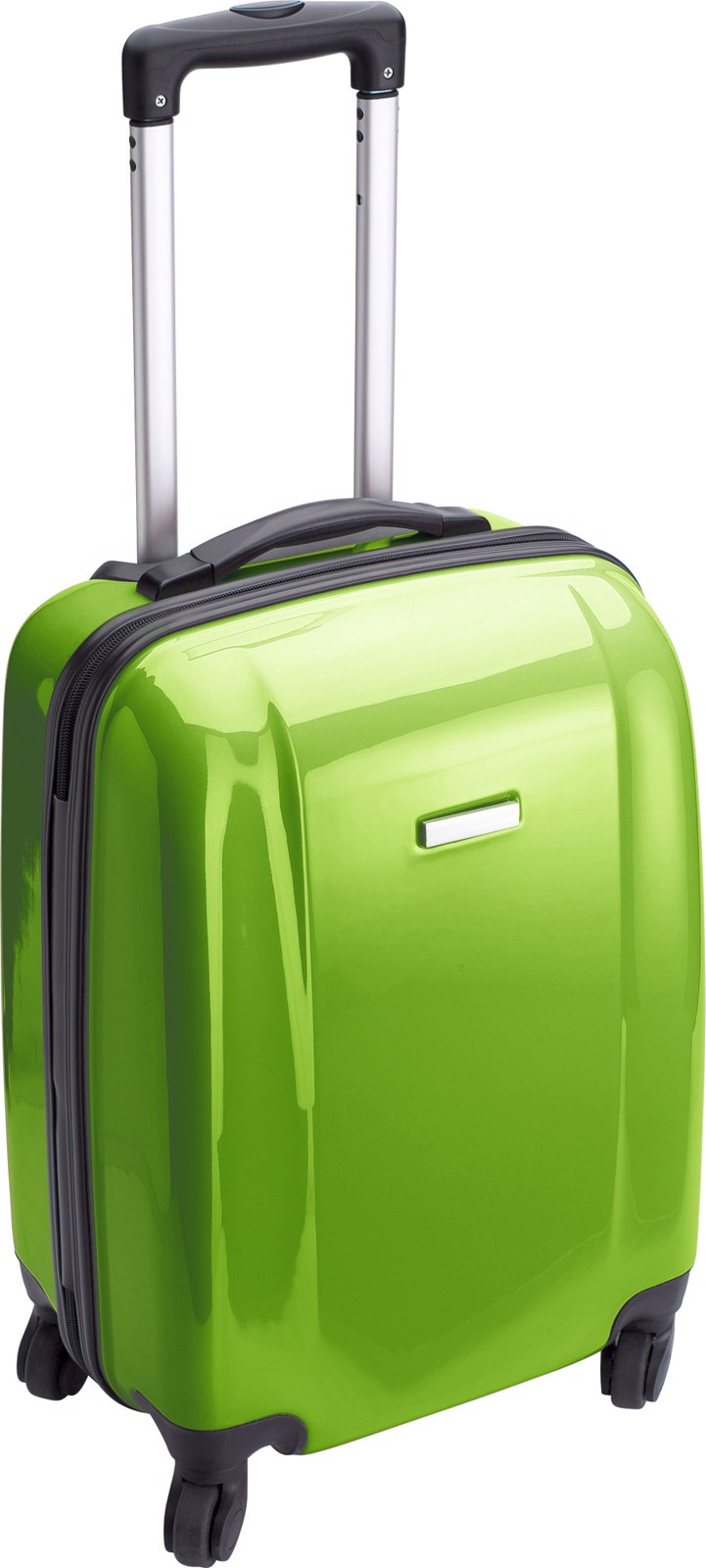 PC and ABS trolley - Lime