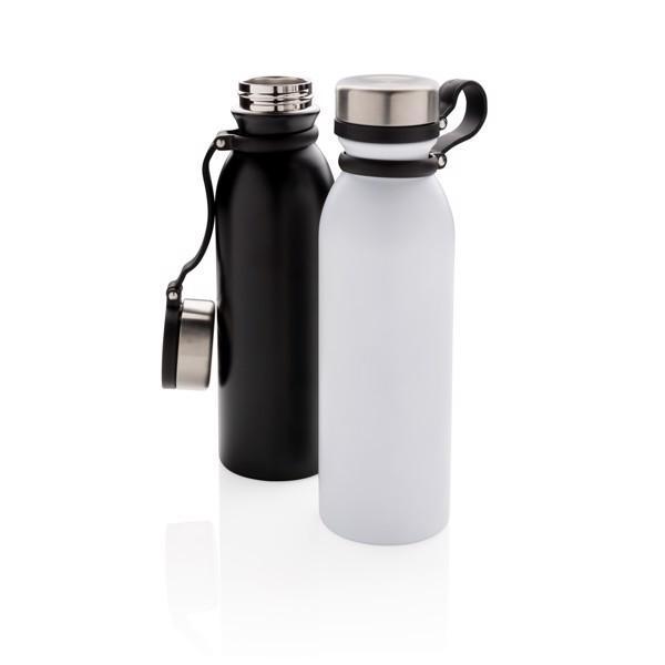 Nepropustná termo láhev s měděnou izolací a poutkem - Bílá