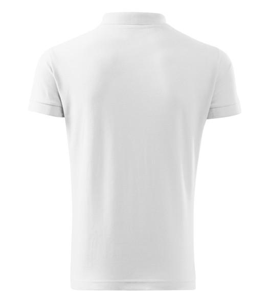 Polo Shirt Gents Malfini Cotton Heavy - White / 3XL