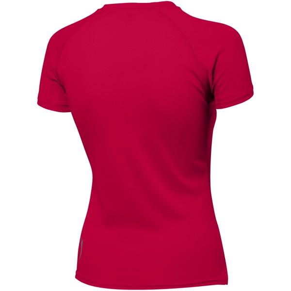 Dámské triko Serve s krátkým rukávem, s povrchovou úpravou - Red / S