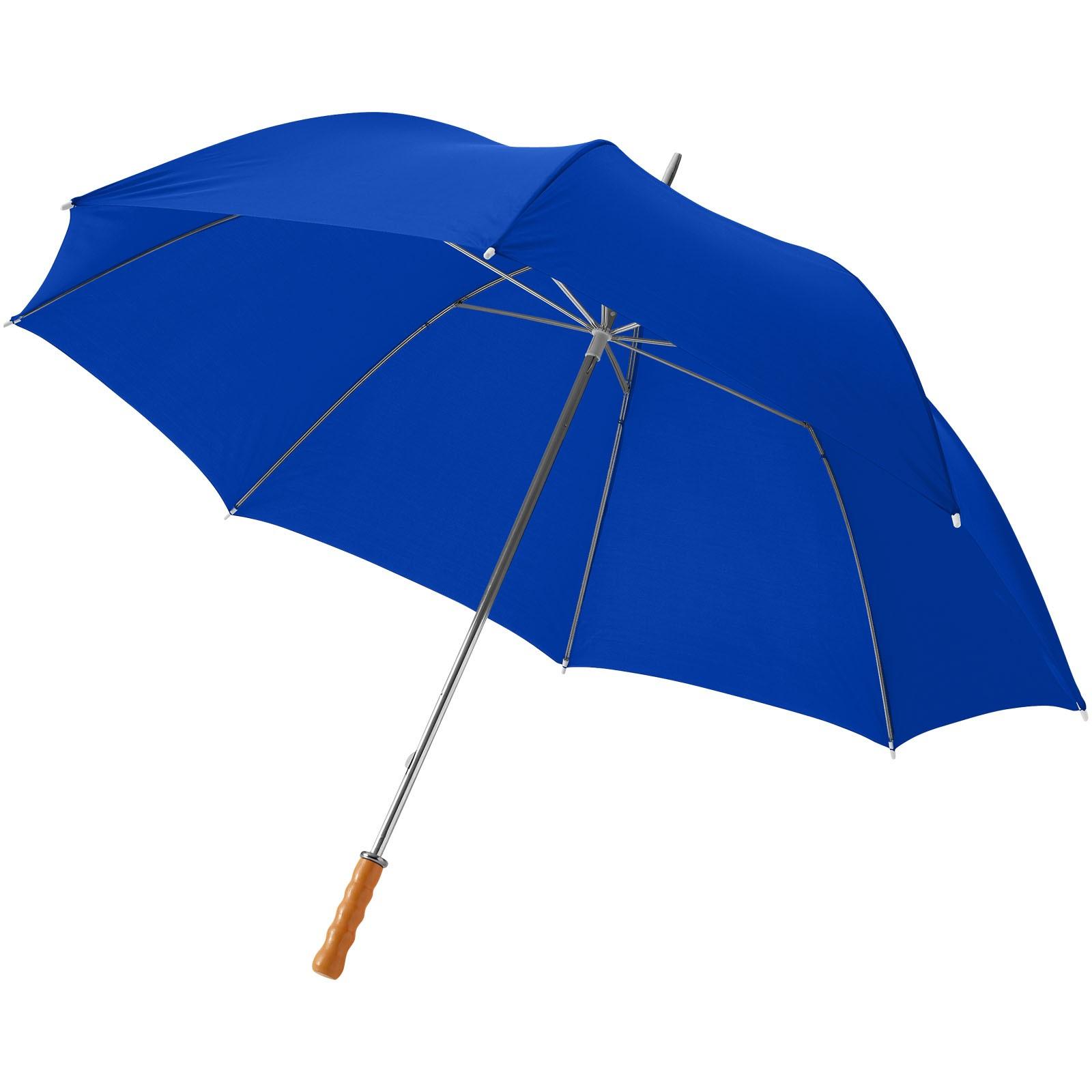 """30"""" golfový deštník Karl s dřevěnou rukojetí - Světle modrá"""