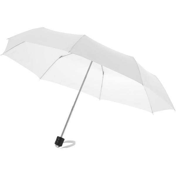 "Ida 21.5"" foldable umbrella - White"
