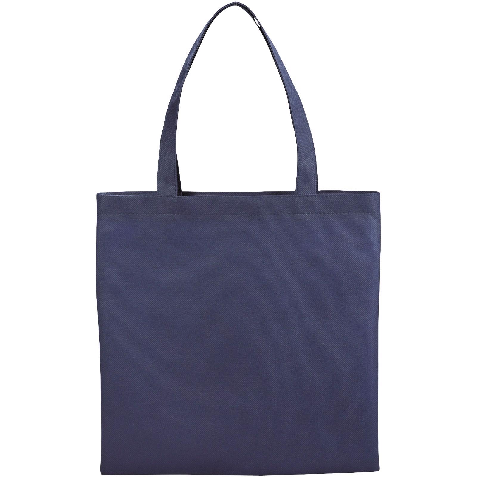 Zeus small non-woven convention tote bag - Navy