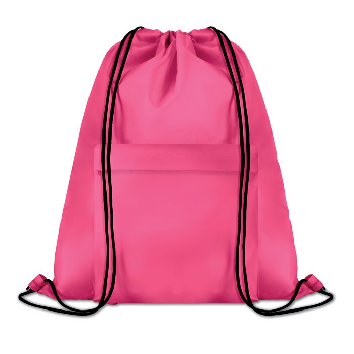 Large drawstring bag Pocket Shoop - Fuchsia