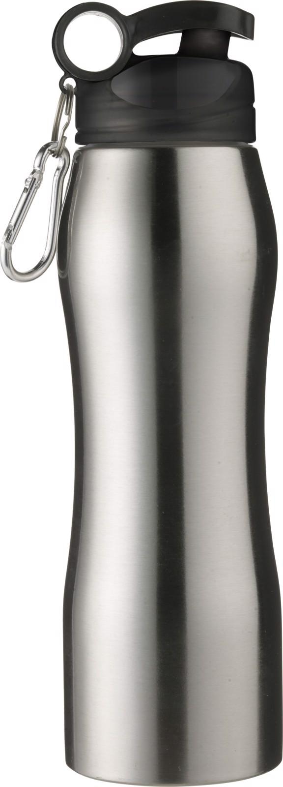 Stainless steelbottle - Silver