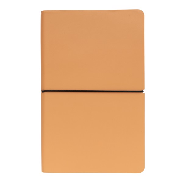 Modern deluxe softcover A5 notebook - Brown