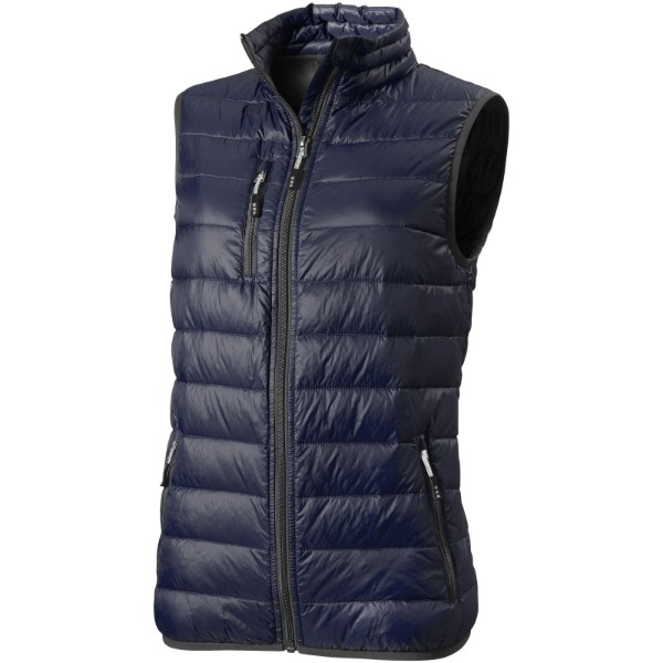 Fairview light down ladies bodywarmer - Navy / XL