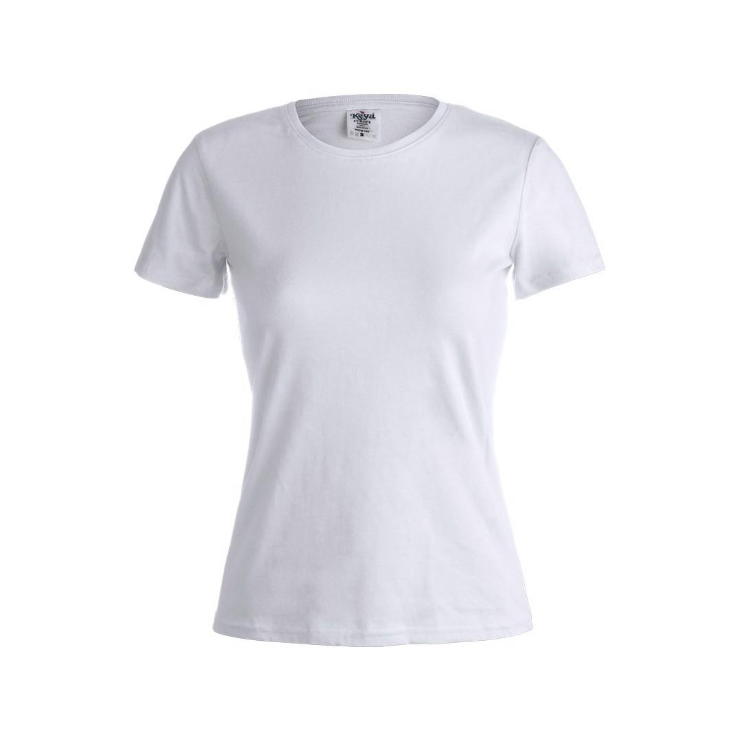 "Camiseta Mujer Blanca ""keya"" WCS180 - Blanco / S"