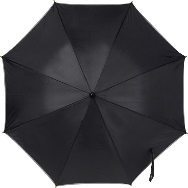 Automatik Stockschirm 'Elegant' aus Polyester - Black