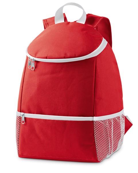 JAIPUR. Cooler backpack 10 L - Red