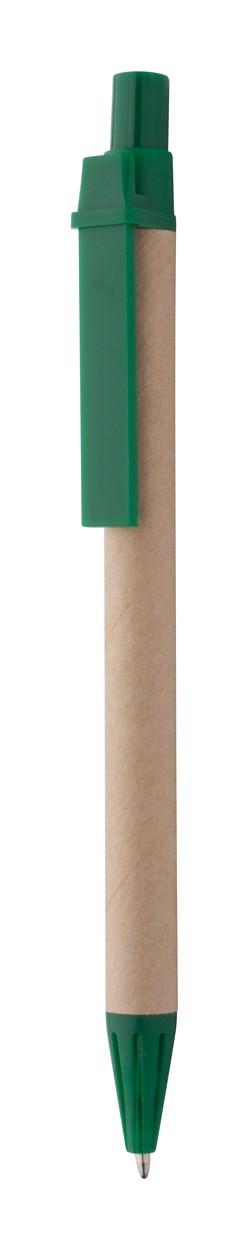 Kuličkové Pero Compo - Přírodní / Zelená
