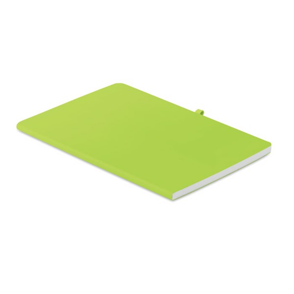 A5 soft PU cover notebook Rainbow - Lime