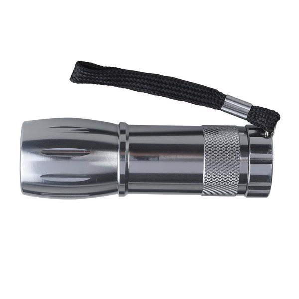 Latarka Spark LED - Srebrny