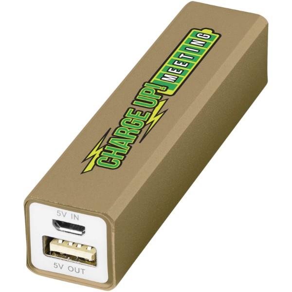 Volt 2200 mAh power bank - Gold