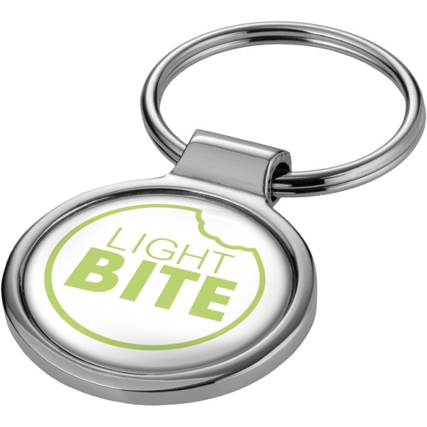 Kruhový přívěsek na klíče