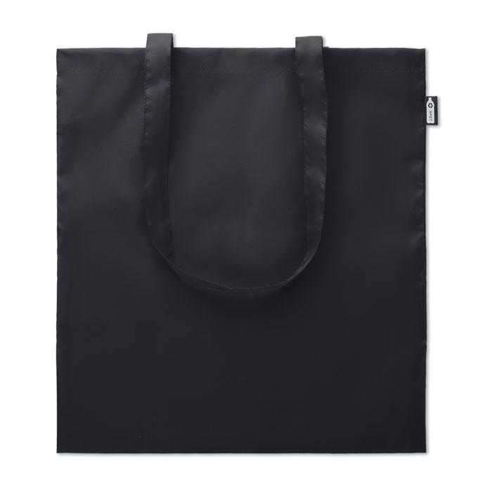 Shopping bag in 100gr RPET Totepet - Black