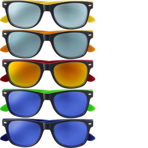 Acrylic sunglasses - Red