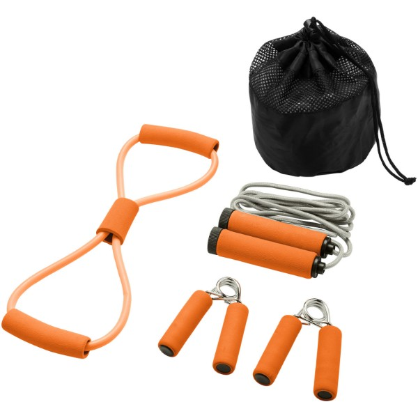 Dwayne fitness set - Orange