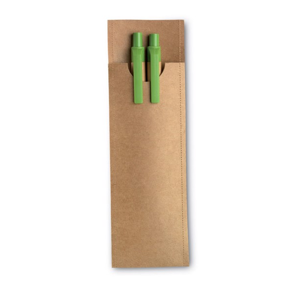 Set of pencil and ball pen Greenset