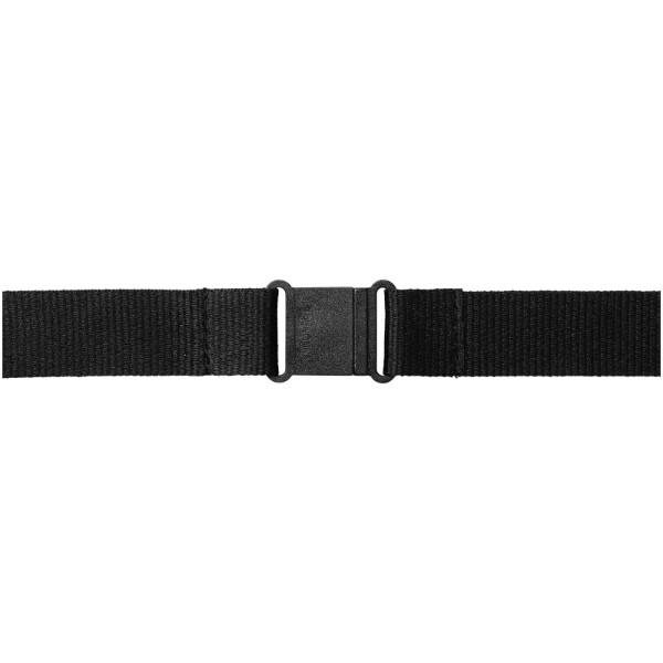 Yogi Lanyard mit Sicherheitsclip - schwarz