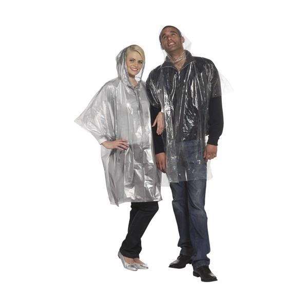Clear poncho/raincoat - Transparent
