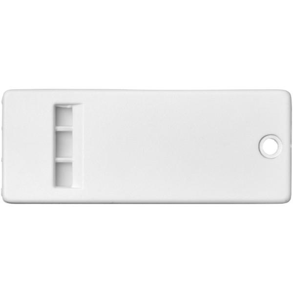 Wanda flache Pfeife mit großer Branding-Oberfläche - Weiss