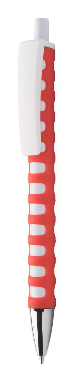 Kuličkové Pero Steady - Červená / Bílá