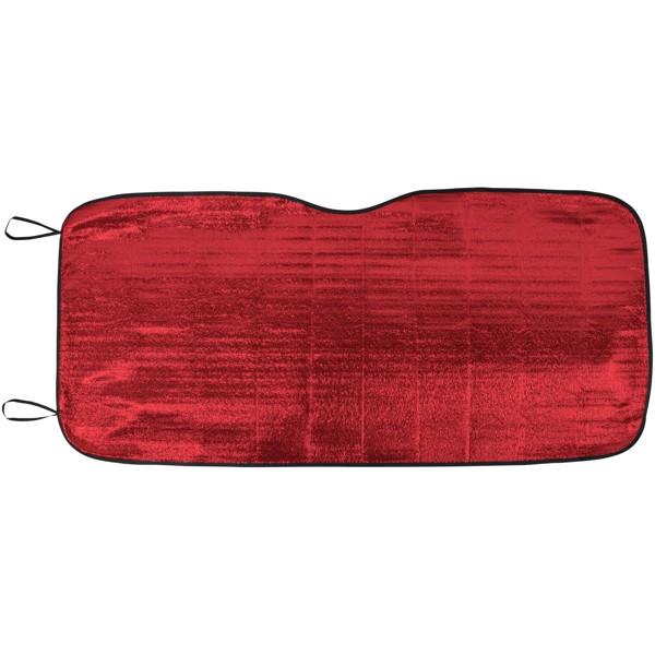 Stínítko Noson na přední sklo auta - Červená s efektem námrazy