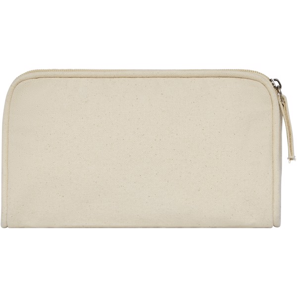Kota 340 g/m² canvas toiletry pouch - Natural
