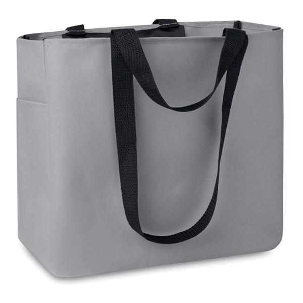 Shopping bag in 600D polyester Camden - Grey