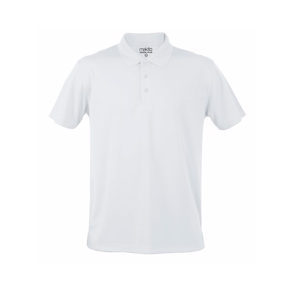 Polo Tecnic Plus - Blanco / XXL