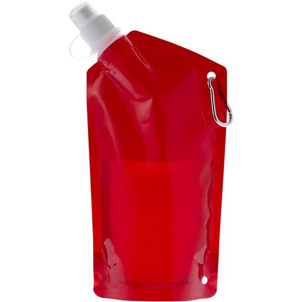 Nápojový sáček Cabo - Transparentní červená